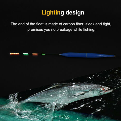 Waterproof Battery Operated Electric LED Night Fishing Float Tackle Accessory GL