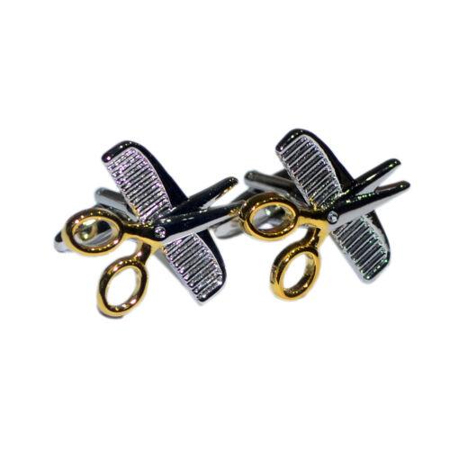 Peine y tijeras de peluquería Estilista Barber Regalo De Navidad caja de regalo Gemelos