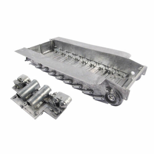 Mato Metal 1//16 1:16 Chassis With Track Tensioner For HL RC German Tiger Tank