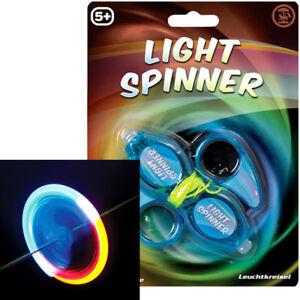 LIGHT-SPINNER-LED-LIGHT-UP-GADGET-GIRLS-BOYS-PARTY-TOY-CHRISTMAS-STOCKING-FILLER