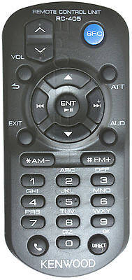 KENWOOD KDC-BT645U KDCBT645U GENUINE RC-405 REMOTE *PAY TODAY SHIPS TODAY*