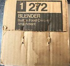 Vintage Nutone Kitchen Food Center 272 Blender for 250 and 251 Power Unit NEW