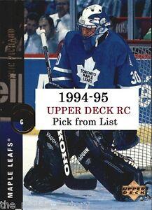 1994-95-Upper-Deck-RC-203-470-Hockey-LOT-x1-U-Pick