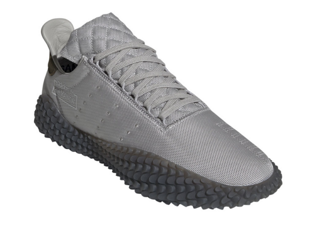 Size 8 - adidas Kamanda Grey Raw Khaki
