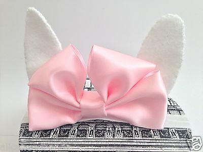 Iniziativa Baby Girl Cerchietti Bunny Orecchie Con Cerchietto Fiocco Neonato Bambino Bambina Hairbows-mostra Il Titolo Originale Eppure Non Volgare