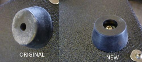 """Sunn amp and Speaker Cabinet Rubber Feet large 1 5//8/"""" diameter"""