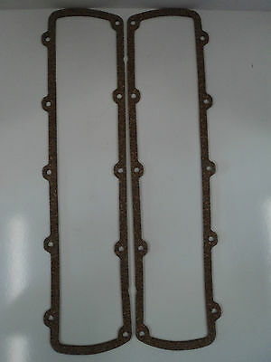 """Olds 307 330 350 400 403 425 455 Cork Valve Cover Gaskets 1/8"""" Thick Oldsmobile"""
