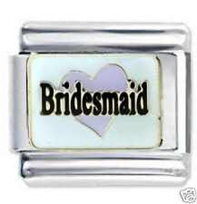 BRIDESMAID Wedding - Daisy Charms JSC Fits Classic Size Italian Charm Bracelet
