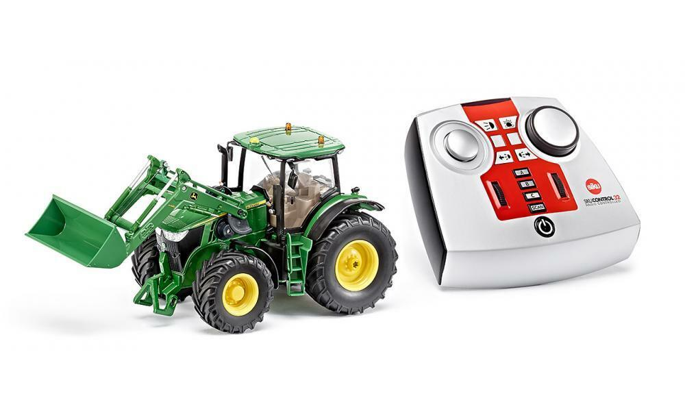 Siku 6777 John Deere 7R Tractor with Front Loader Remote Control 2.4Ghz 1 32