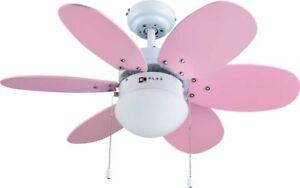 Bastilipo Aguadulce Ventilateur De Toit Avec Lumière E27 60 W 75 X 42.9 Cm A