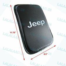 New Carbon Fiber For Jeep Car Center Console Armrest Cushion Mat Pad Cover X1 Fits 2012 Jeep Patriot