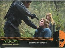Arrow Season 2 Mirakuru Chase Card U2 I Will Put You Down