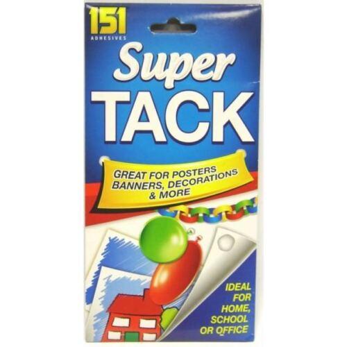 nuevo! 151 Blu Tack Super Tachuela reutilizable no tóxico Tac Adhesivo Fuerte Tachuela