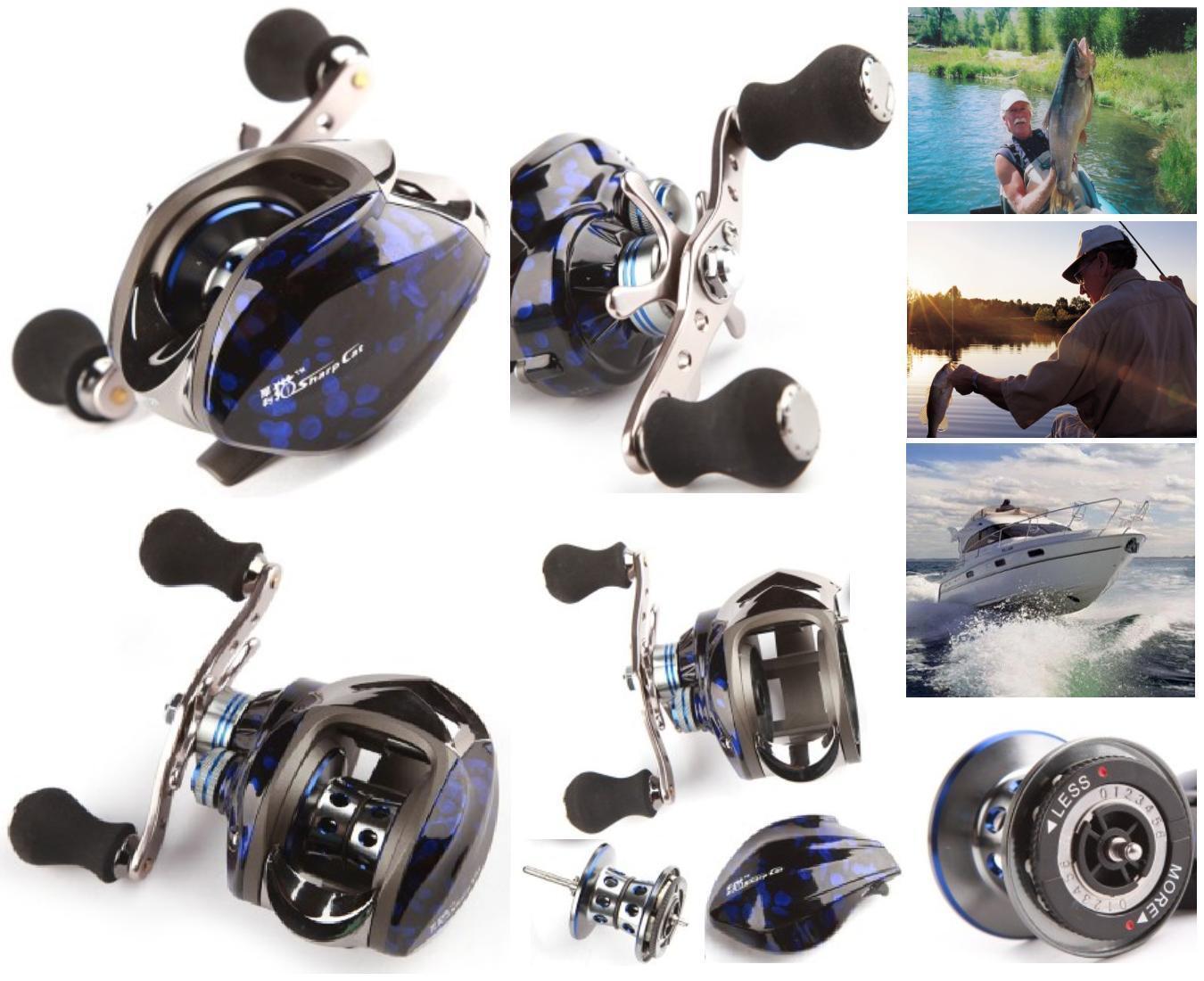 Fishing reel SPINNING Gr.217 REPORT 6.3 1 BRAKE MAGNETIC 10 BEARINGS