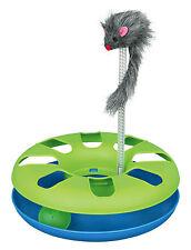 Verrückt Rundes Katzenspielzeug mit Plüsch Maus auf Frühling & Spielzeug Ball