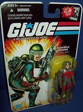 Gi Joe 2008 Laser Rifle Trooper 25th Anniversary MOC Army Builder by Hasbro