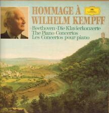 """Beethoven(4x12"""" Vinyl LP Box Set)Die Klavierkonzerte Wilhelm Kempff-Deu-VG+/Ex-"""