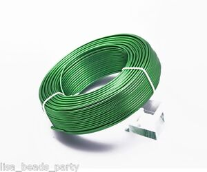 1Roll-210meters-18Gauge-1-0mm-Aluminum-Wrap-Craft-Wire-Jewelry-Making-Deep-Green