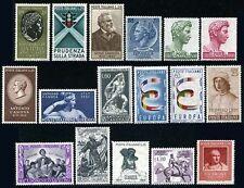 ITALIA - annata completa 1957  nuova    **