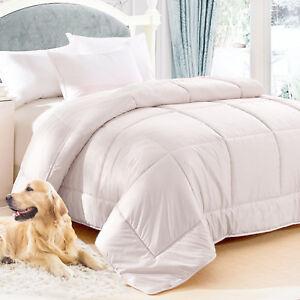 100% Australian Wool Quilt 500gsm Duvet Doona 500gsm Japara Cotton Cover AllSize