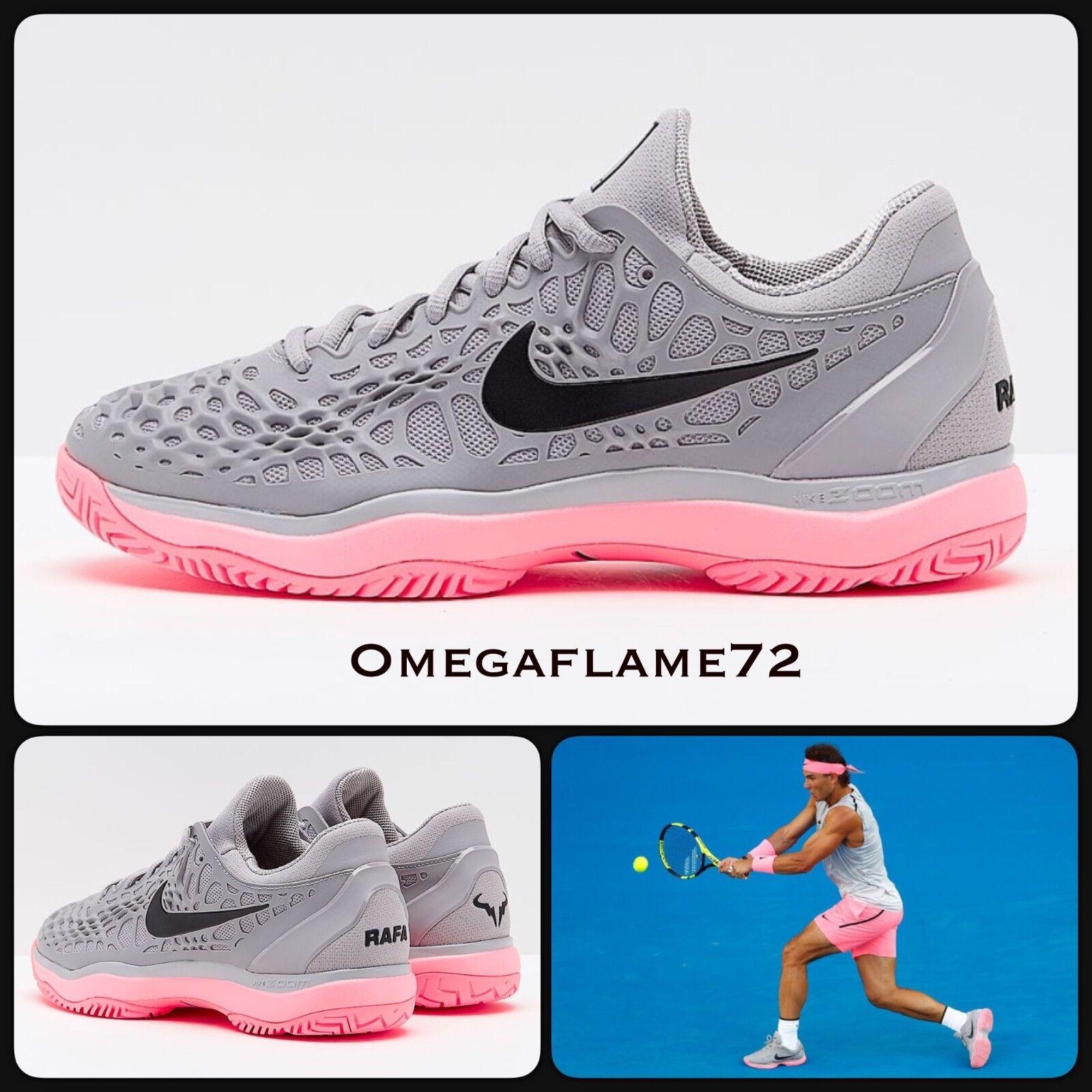 Nike Zoom Cage 3 Rafa Rafa Rafa Nadal Tennis Chaussure,8.5 EU 43 US 9.5 918192-013 0a60cc