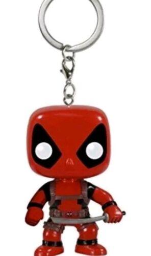 Keychain: Marvel Deadpool Keychain New Toy Funko Pocket Pop