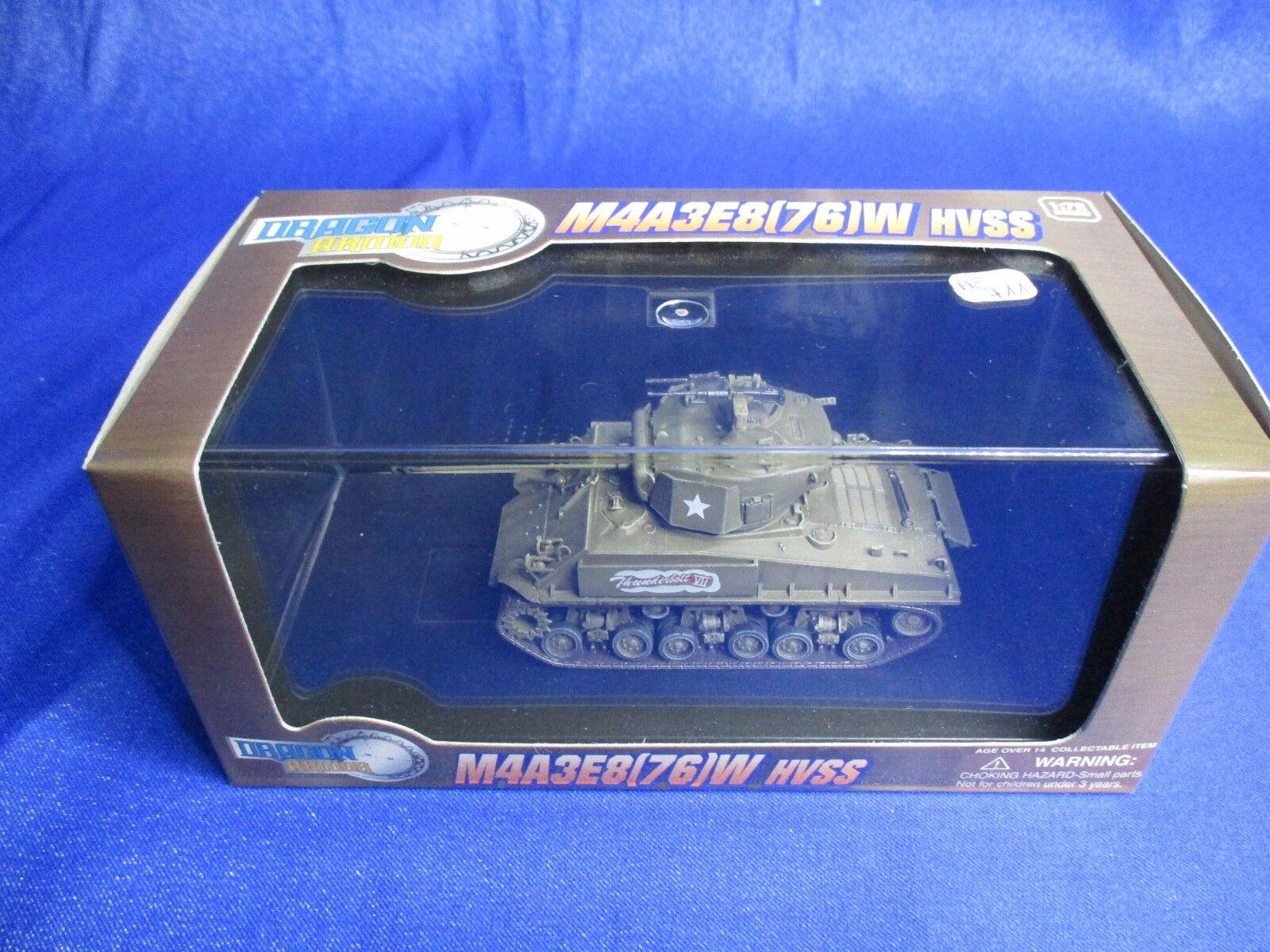 AF711 DRAGON ARMOR SHERMAN M4A3E8 76W HVSS HVSS HVSS GERMANY 1945 1/72 Ref 60297 WWII NB | Nouveau Produit  54636a