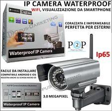 IPCAMERA ESTERNO 3MP IMPERMEABILE IP65 WIFI PER Samsung Galaxy A5 SM-500