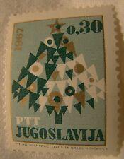 Yugoslavia Stamp 1966 Scott 847 A208  Christmas .30 Unused