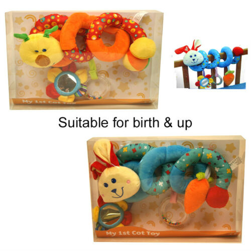 Car seat Toy New Caterpillar And Rabbit Baby My Spiral Activity Cot