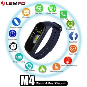 LEMFO-M4-pulsera-de-banda-Frecuencia-Cardiaca-inteligente-para-Xiaomi-AndroidIOS