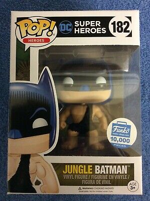 Funko Pop Vinyl DC Super Heroes Jungle Batman #182 Limitée 10,000 Pièces