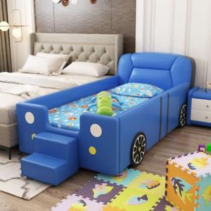 Kids Bed Children's Dream Racing Car Bed Wooden safe sleeping area Bedroom gift