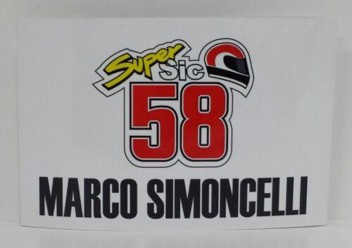 Minichamps Marco Simoncelli 1//12 Banner Box Valencia 2011 Limitierte Auflage