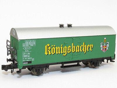 Neu Gentle Sowa-n 1508k Güterwagen Kühlwagen Bierwagen Db Königsbacher Spur N