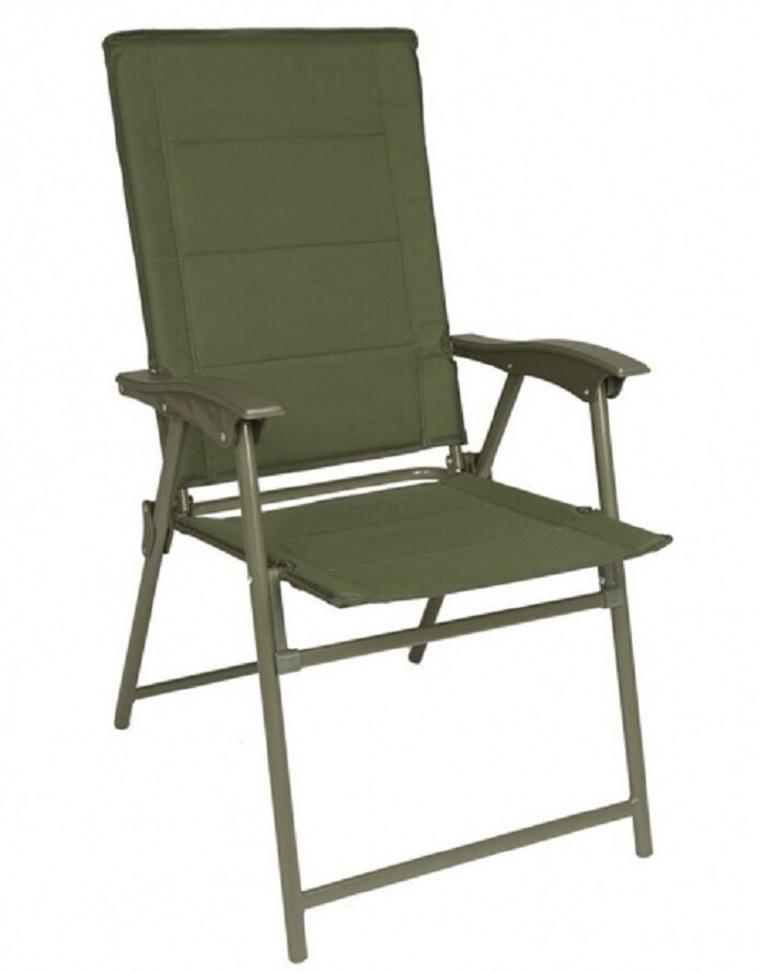 Army Chaise Pliante Avec Accoudoir Military Chair Extrieur Camping Olive 036548