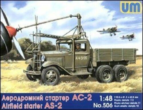 Airfield starter AS-2 on GAZ-AAA UniModels 1:48 Plastic model kit #506