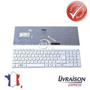 Clavier-Azerty-Francais-pour-Packardbell-EasyNote-TV11-TV13-TV43-TV44-blanc