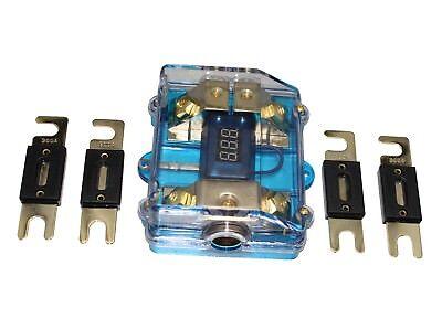 APS 300A ANL Digital Platinum ANL Dist Block 0-4 Gauge Fuse Holder SKFH061G