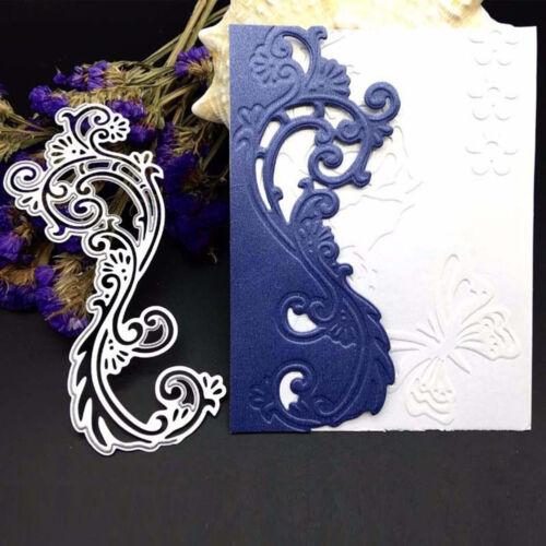 Lace Edge Border Metal Cutting Dies Stencil Scrapbook Album Paper Card Embossing