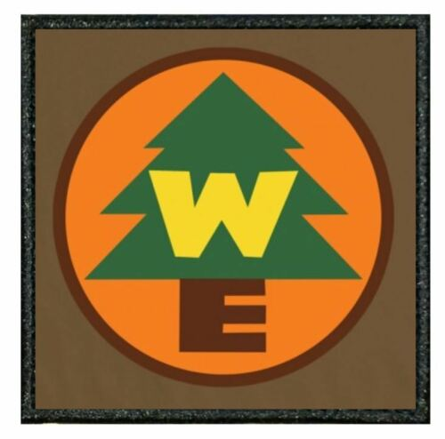 """04A TV MOVIE  style patch from our /""""TIV/"""" Range UP WILDERNESS EXPLORER"""