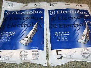 1 Packs De Véritable Electrolux E60 Aspirateur Sacs (5)-afficher Le Titre D'origine