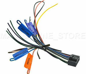 Details about KENWOOD DDX-319 DDX319 GENUINE WIRE HARNESS *PAY TODAY on