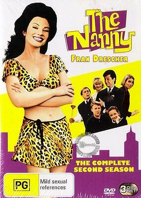 THE NANNY SERIES Season 2 : NEW DVD