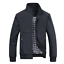 DEE MOONLY Spring Autumn Casual Solid Fashion Slim Bomber Jacket Men Overcoat Ne