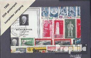 DDR-gestempelt-1960-kompletter-Jahrgang-in-sauberer-Erhaltung