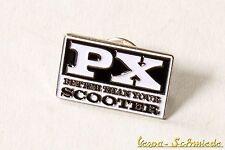"VESPA Pin / Anstecker ""PX - Better than your Scooter"" - Lusso Piaggio Retro"