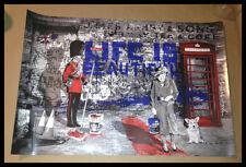 MR BRAINWASH Jubilation Queen Elizabeth II 60th Anniversary LITHOGRAPH PRINT