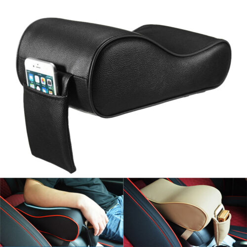 Box Cover Leather Mat Interior Accessories Car Armrest Memory Foam Mat Soft Pad