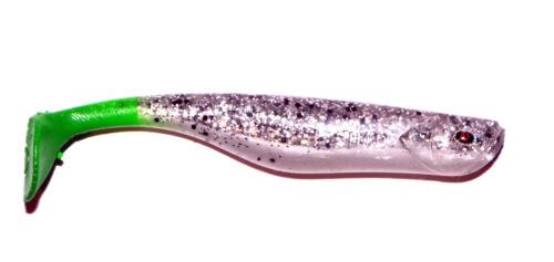 Quantum Hochet shad 10 cm en caoutchouc poisson quantum zander brochet perche glasrassel